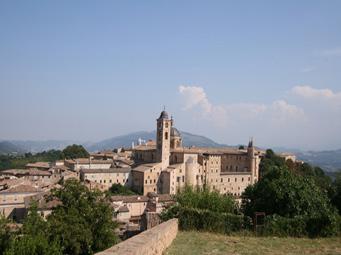 La ville de Urbino